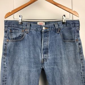 Levi's Jeans - Levi's vintage 501 36x30 button fly jeans